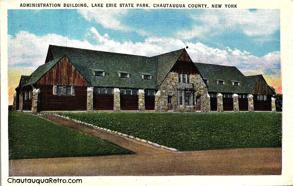 Lake Erie State Park, Administration Building 2