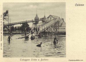 Toboggan Slides & Bathers