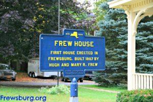 Frew House Historical Marker