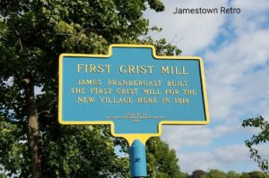 First Grist Mill historical marker
