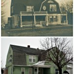 Then and Now 522 W 5TH ST Jamestown, NY 1908 vs Today