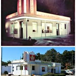Then and Now   1101 S Florida Ave  Lakeland, FL  Then - Pipkin's Ice Cream Shop   Now - Hungry Howie's