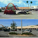 Southgate Shopping Center South Florida Avenue Lakeland, FL 1960 vs 2014