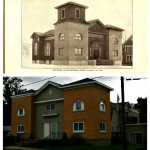 United Brethren Church - Then and Now  Frewsburg, NY  1915 vs 2012 Now an apartment building