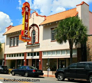 Ritz Theatre   263 W. Central Ave.  Winter Haven, FL   A Retro Roadside Photo 2013