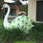 The Publix Swan at Lime and Kentucky Lakeland, Florida