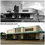 First Publix super market - Winter Haven, Florida Then and Now 1940 vs 2014
