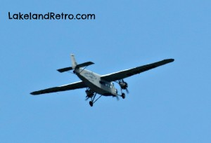 Ford Trimotor over Lakeland, Florida April 2014
