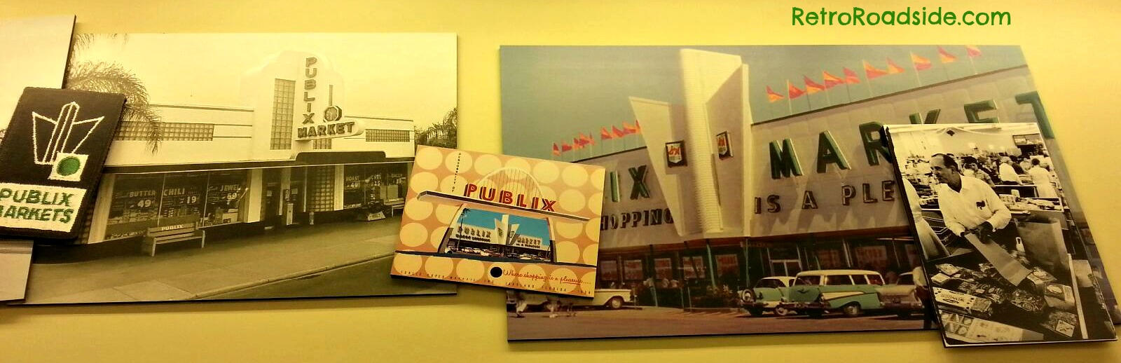 Interesting retro photos on the wall of my local Publix....
