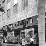F.W. Woolworth Company store  Lincoln Road   Miami Beach, Florida  1946  Courtesy Florida Archives