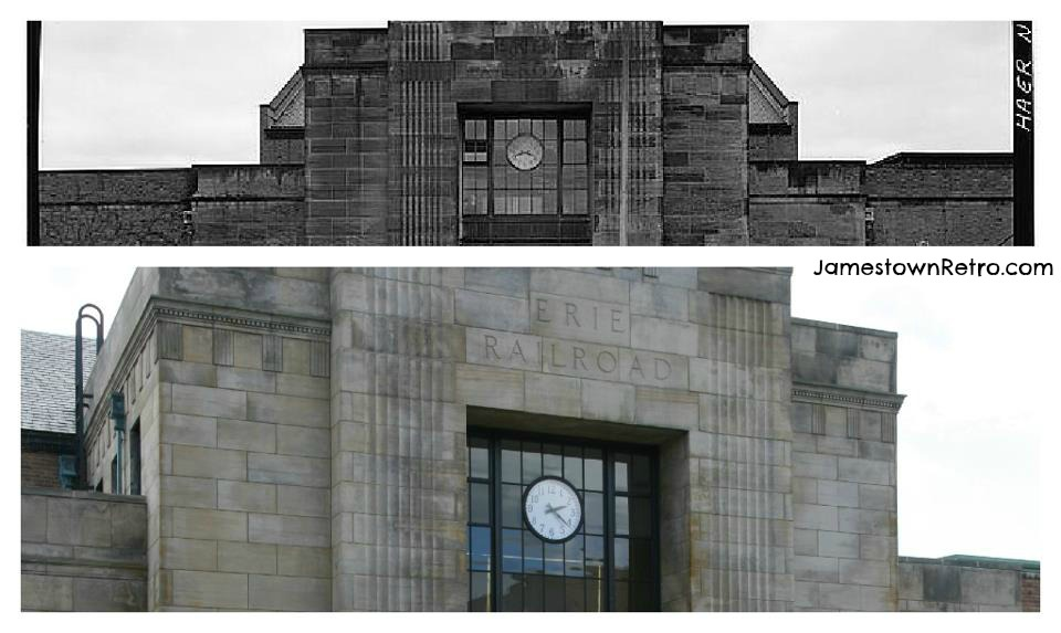 Jamestown Train Station Then and Now  JR