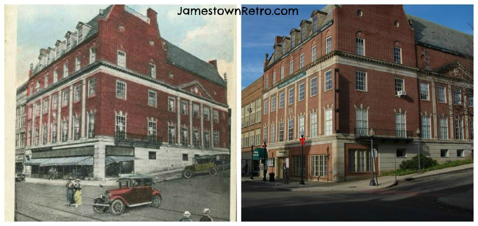 Masonic Temple - Then and Now  JR